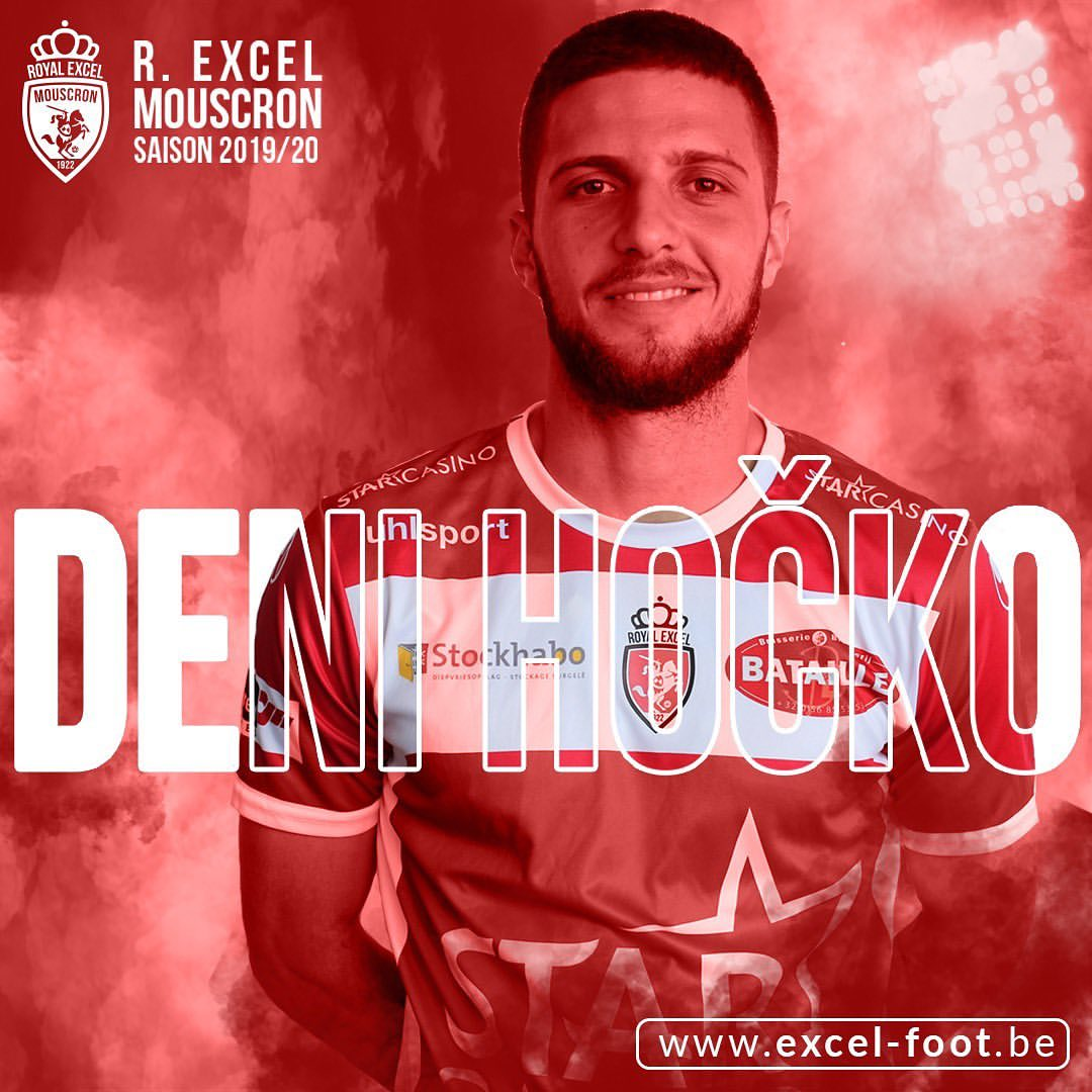 You are currently viewing Deni Hocko signs with Mouscron
